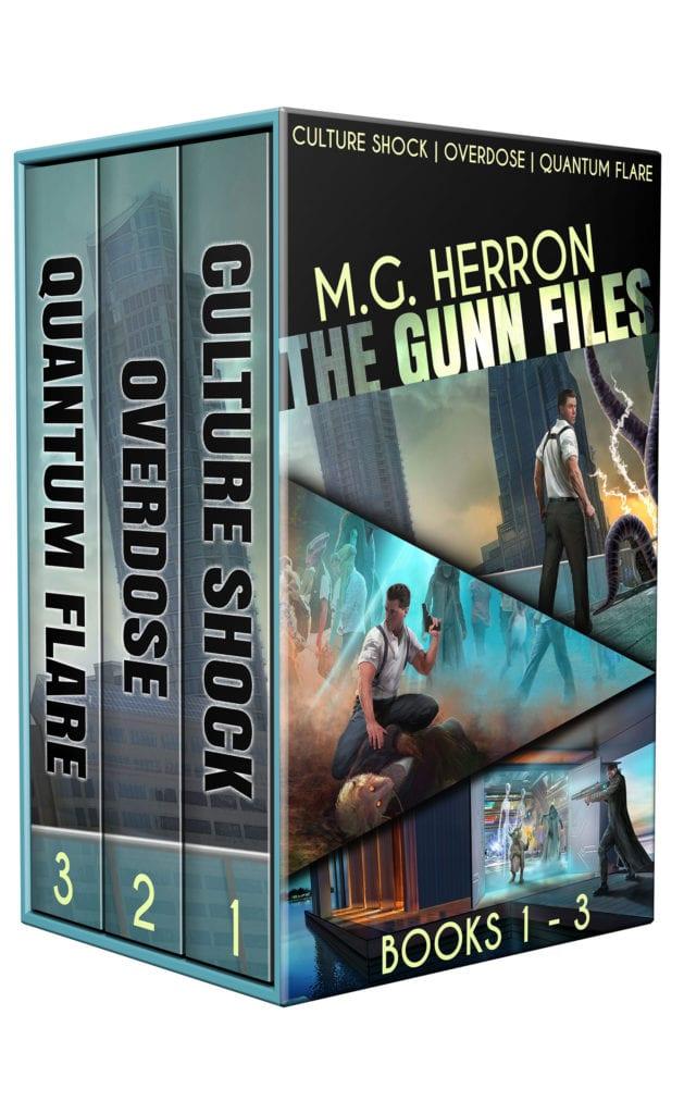 The Gunn Files Box Set cover